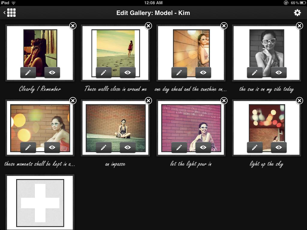 Edit Gallery Mode