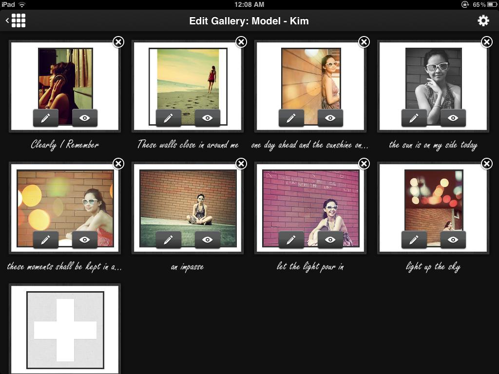 Edit Gallery Mode