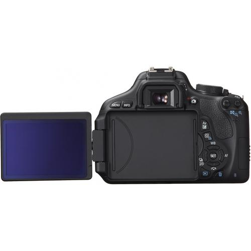 600D has flipable back LCD