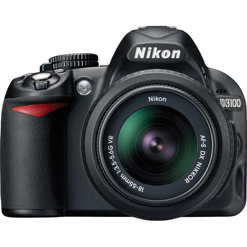 D3100 with 18-55 kit lens