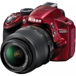 D3200 profile view (red)