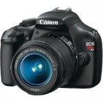 Canon EOS Rebel T3 with Kit Lens 18-55mm