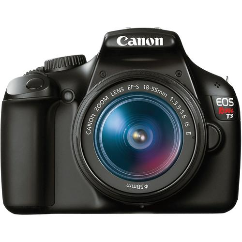 Canon Rebel T3 with Kit lens 18-55mm