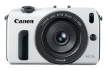 Canon EOS M [white version] (Front)