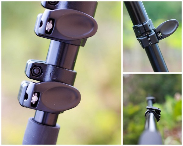 Manfrotto 679B Monopod's Quick Action Levers