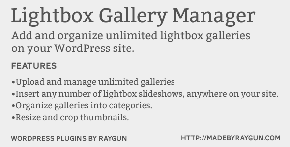 Lightbox-Gallery-Manager