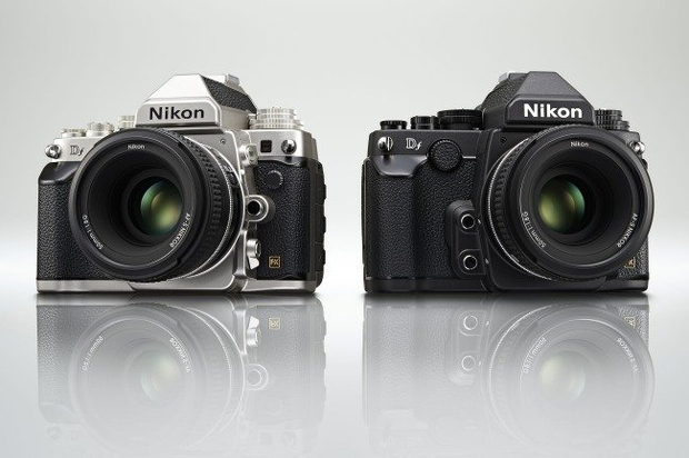 Nikon Df silver and black
