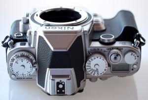 Nikon Df control dials