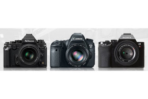 Win one of the three great cameras from Nikon, Sony or Canon!