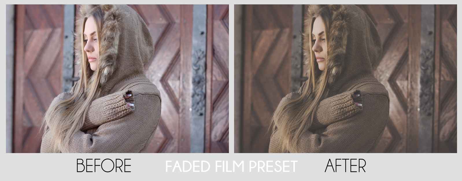 faded film look presets